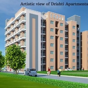 Artistic view of Drishti Apartments