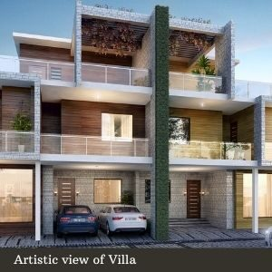 Artistic view of Villa (5)