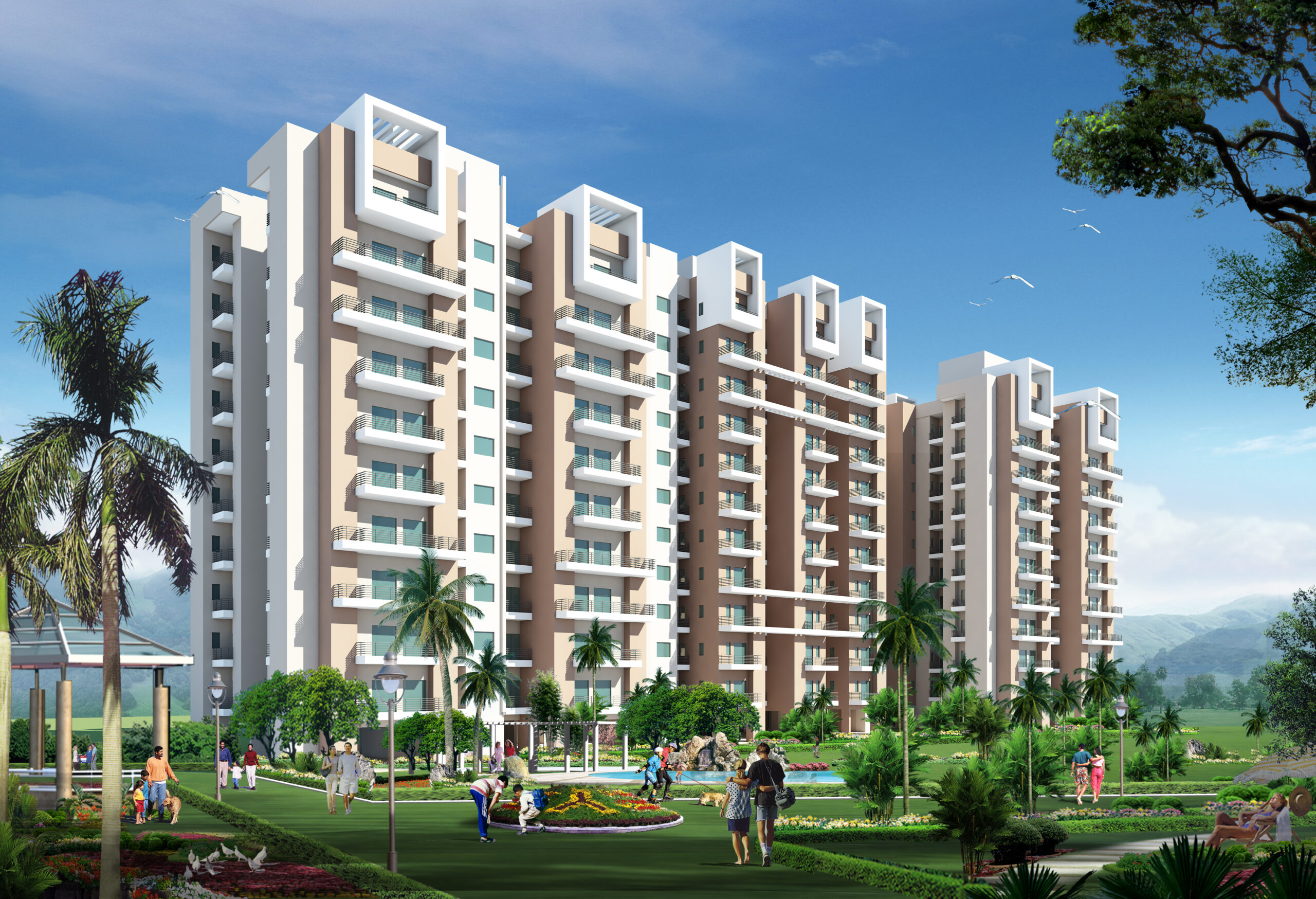 Flats in Prayagraj - solitaire valley